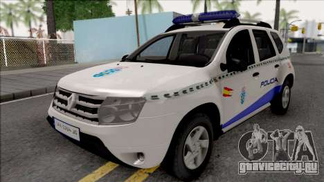 Renault Duster Spanish Police для GTA San Andreas