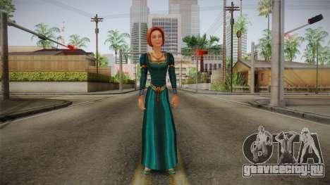 Princess Fiona для GTA San Andreas второй скриншот