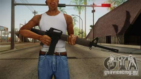 COD Advanced Warfare M16 для GTA San Andreas третий скриншот