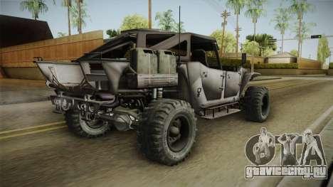 Ghost Recon Wildlands - Unidad AMV No Minigun v1 для GTA San Andreas вид слева