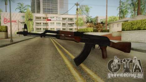 GTA 5 Gunrunning AK47 для GTA San Andreas