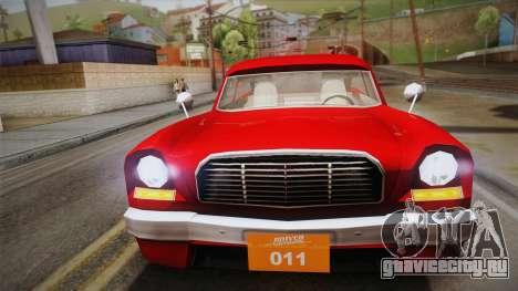 Driver: PL - Namorra для GTA San Andreas вид сзади слева