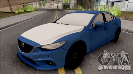 Mazda 6 Standard 2015 для GTA San Andreas
