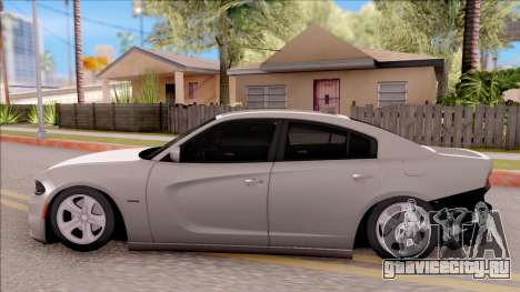 Dodge Charger RT 2016 для GTA San Andreas вид слева