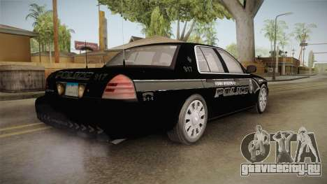 Ford Crown Victoria PI Stealth YRP для GTA San Andreas вид справа
