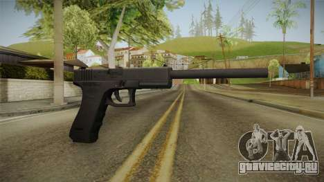 Glock 18 3 Dot Sight with Long Barrel для GTA San Andreas