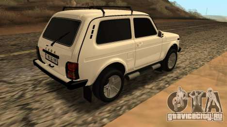 Lada Niva Urban Armenian для GTA San Andreas вид справа