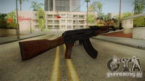 GTA 5 Gunrunning AK47 для GTA San Andreas второй скриншот