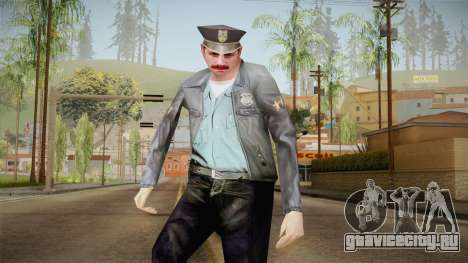 Driver PL Police Officer v1 для GTA San Andreas