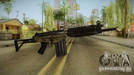 DSA FAL Camo Variant для GTA San Andreas