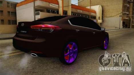 Kia Cerato Eccentric для GTA San Andreas вид слева