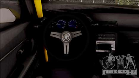 Nissan Skyline R32 Drift Falken Germany v2 для GTA San Andreas вид изнутри