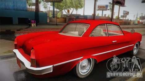Driver: PL - Namorra для GTA San Andreas вид слева