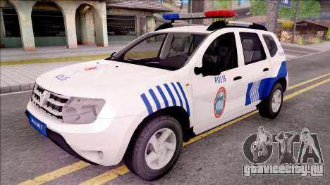 Renault Duster Turkish Police Patrol Car для GTA San Andreas