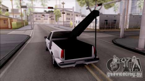 Chevrolet Grand Blazer Towtruck для GTA San Andreas вид сзади слева