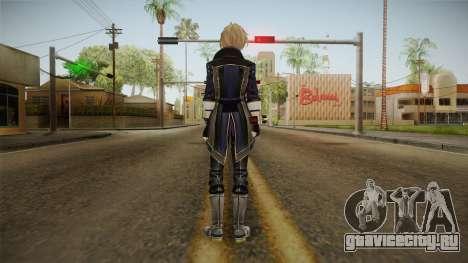 God Eater 2: Rage Burst - Julius Visconti для GTA San Andreas третий скриншот