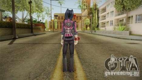 God Eater 2: Rage Burst - Yoshino Kouzuki для GTA San Andreas третий скриншот