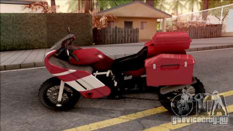 FCR900 XR Adventure для GTA San Andreas вид слева