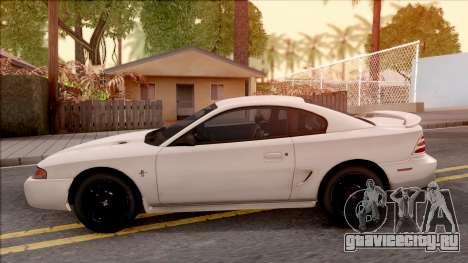 Ford Mustang GT 1993 для GTA San Andreas вид слева