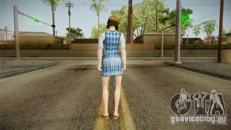 Pinky Gauthier form Bully Scholarship v1 для GTA San Andreas третий скриншот