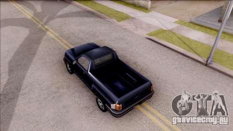 Bobcat from GTA 3 для GTA San Andreas вид сзади