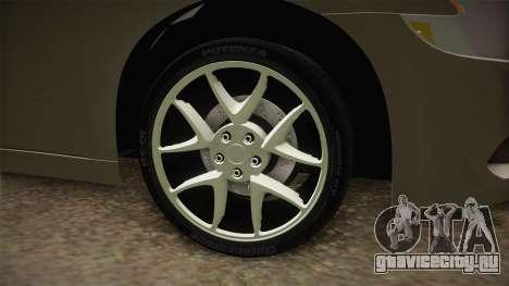 Nissan Maxima 2011 для GTA San Andreas вид сзади