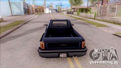 Bobcat from GTA 3 для GTA San Andreas вид сзади слева