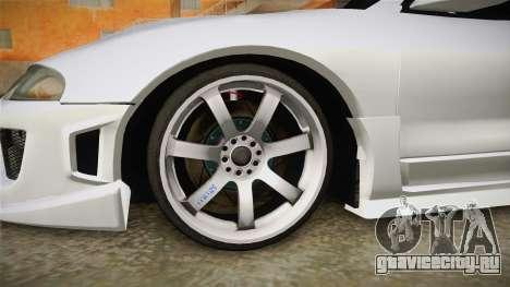 Mitsubishi Eclipse GSX для GTA San Andreas вид сзади