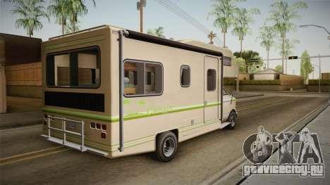 GTA 5 Brute Camper для GTA San Andreas вид слева