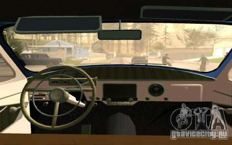 ГАЗ 21 Лимузин v2.0 для GTA San Andreas вид сбоку