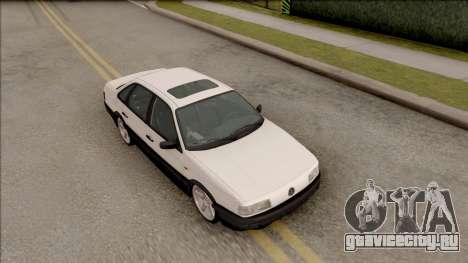 Volkswagen Passat B3 Sedan для GTA San Andreas вид справа