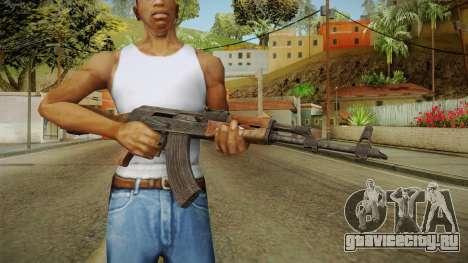 AKM Assault Rifle v1 для GTA San Andreas третий скриншот