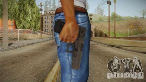 Glock 17 3 Dot Sight Blue для GTA San Andreas третий скриншот