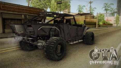 Ghost Recon Wildlands - Unidad AMV No Minigun v2 для GTA San Andreas вид сзади слева
