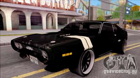 Plymouth GTX Roadrunner 1972 Fate Of Furious 8 для GTA San Andreas