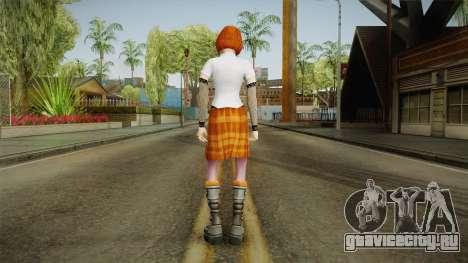 Zoe Taylor from Bully Scholarship v2 для GTA San Andreas третий скриншот