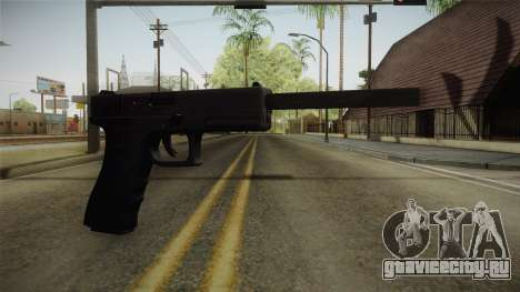 Glock 21 3 Dot Sight with Long Barrel для GTA San Andreas
