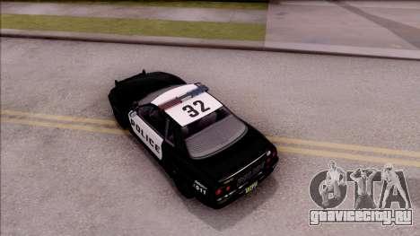 GTA V Annis Elegy Retro Interceptor для GTA San Andreas вид сзади