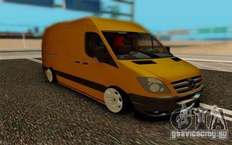Mercedes Sprinter для GTA San Andreas