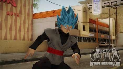DBX2 - Goku Black SSJB v2 для GTA San Andreas