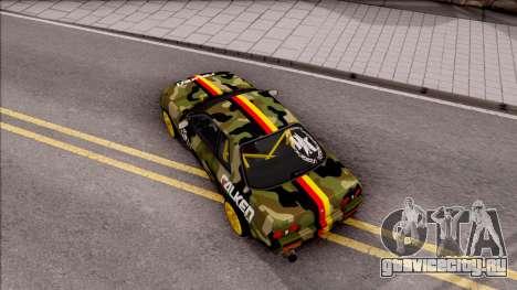 Nissan Skyline R32 Drift Falken Germany v2 для GTA San Andreas вид сзади