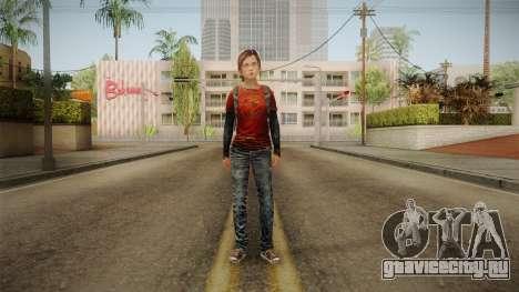 Ellie Tlou v1 для GTA San Andreas второй скриншот