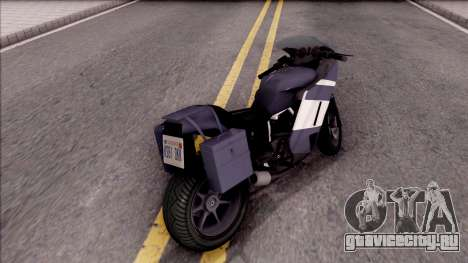 FCR-900 RT Touring для GTA San Andreas вид сзади слева