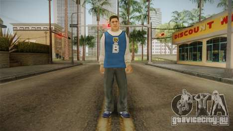 Luis Luna from Bully Scholarship для GTA San Andreas второй скриншот