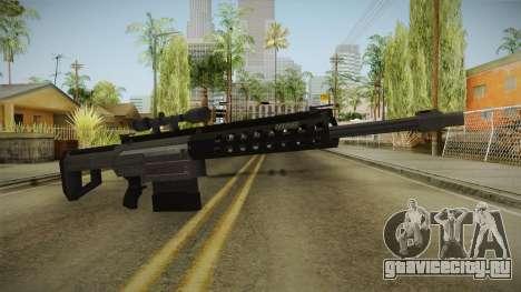 Gunrunning Heavy Sniper Rifle v1 для GTA San Andreas