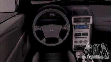 Dodge Journey 2009 для GTA San Andreas вид изнутри