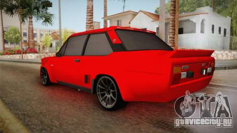 Fiat 131 Abarth для GTA San Andreas вид слева
