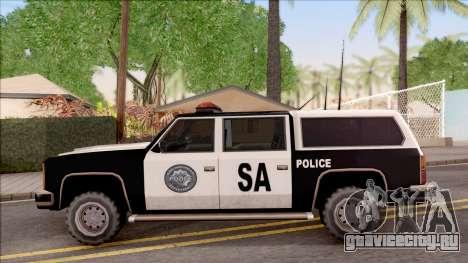 Police Rancher 4 Doors для GTA San Andreas вид слева