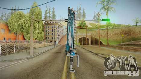 W40K: Deathwatch Chain Sword v5 для GTA San Andreas второй скриншот