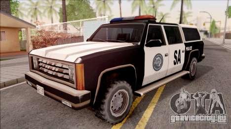 Police Rancher 4 Doors для GTA San Andreas